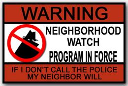 KPA neighbourhood watch