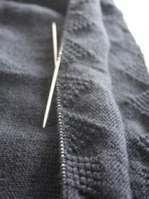 KPA knitting gansey