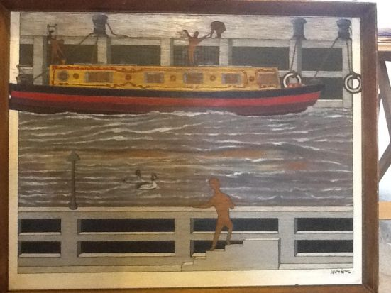 Nik Evanz narrow boat